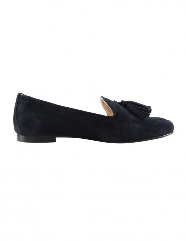LOAFER IN BLUE SUEDE