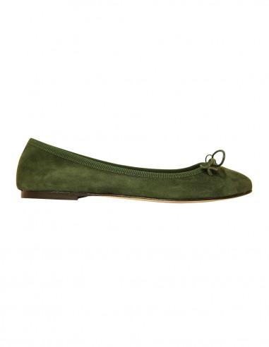Flats - Chamois gucci green