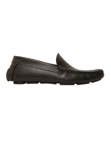 Loafers - Saffiano leather black