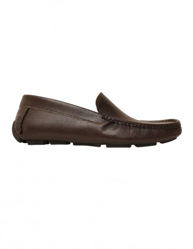 Loafers - Saffiano leather brown